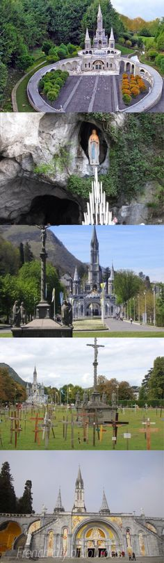 French city of Lourdes.