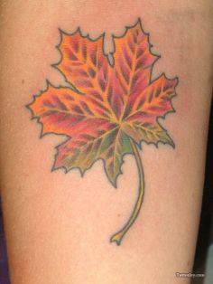 If I ever got a tattoo I think it would be of a Maple Leaf.  #Canadian