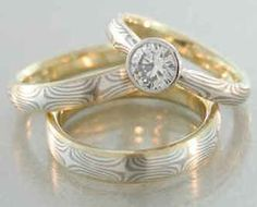 Genuine Tanzanites and Topazes Ring