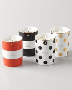 Porcelain Candle by kate spade new york at Neiman Marcus.