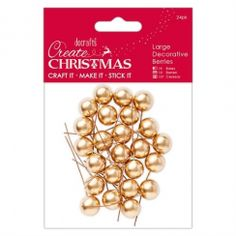 These coloured holly berry ball shapes on metal sticks are brilliant for Christmas themed crafts,, including wreaths and other floral displays. Christmas Themes, Christmas Crafts, Christmas Decorations, Christmas Berries, Holly Berries, Make Your Own, How To Make, Crafts To Do, Centerpieces