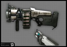 Concept Riddick - Gr. Launcher by *torvenius on deviantART