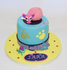 Pet Shop cake. Pastel. Fondant.