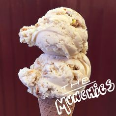 The Munchies ice cream at Ample Hills Creamery in New York