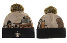 e3ed420037cbec New Orleans Saints Winter Outdoor Sports Warm Knit Beanie Hat Pom Pom Knit  Beanie Hat,