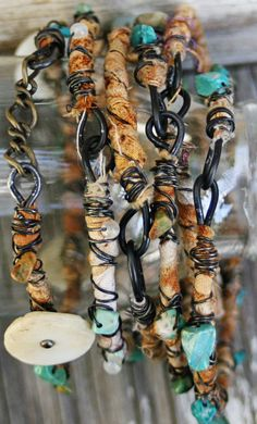 Boho Tribal Bangles Bliss set of 12 by pilarpollock on Etsy. $50.00 USD, via Etsy. Oh my! These fab bracelets were made by my friend Pilar. I would buy them myself except they are for average to large wrists and I have a small wrist.....lucky for me, I know the artist though :)