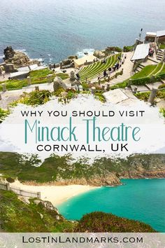 Minack Theatre in Cornwall, UK is a must see attraction that is not only quirky but full of history too. You can just visit the site or visit a play with the view of the sea beyond. One of our favourite things to do in Cornwall, England and there's even a Places To Travel, Places To See, Sightseeing London, Things To Do In Cornwall, Cornwall Beaches, Into The West, Europe Destinations, British Isles, Beach Photos
