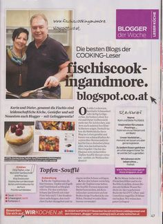 fischi`s cooking and more....: foodblog der woche - cooking magazin