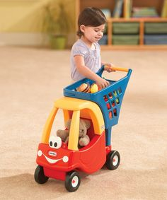 Look at this Little Tikes Cozy Coupe Shopping Cart on today! Church Nursery Decor, Little Tikes, Love My Kids, Toddler Toys, Kids Toys, Baby Disney, Cool Toys, Baby Strollers, Baby Kids