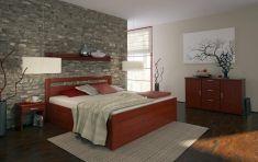 Manželská postel 180x200 Taisa senior 137BS buk cink