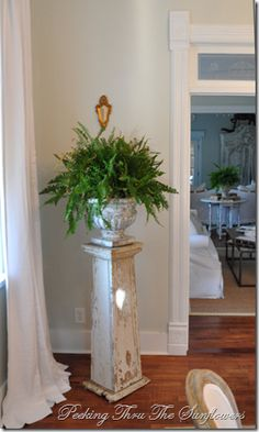 Could I make this plant stand?