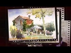 Watercolor in Tuscany - YouTube