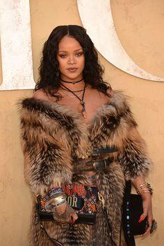 Rihanna Photos Photos - Singer Rihana arrives for the first cruise collection by Maria Grazia Chiuri for Dior show in the Upper Las Virgenes Canyon, Calabasas, California, on May 11, 2017.  / AFP PHOTO / CHRIS DELMAS - Christian Dior Cruise 2018 Runway Show