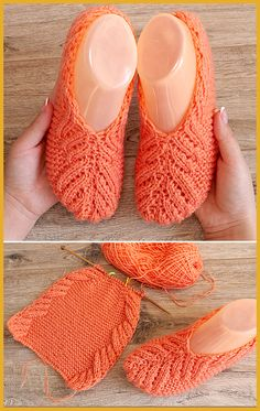 Lace Slippers - Free Knitting Pattern Always wanted to be able to knit, yet uncertain where to start? That Utter Beginner Knitting String is exactly the thing. Knit Slippers Free Pattern, Crochet Slipper Pattern, Dishcloth Knitting Patterns, Knitted Slippers, Knitting Stitches, Crochet Patterns, Knitting Blogs, Knitting For Beginners, Lace Knitting