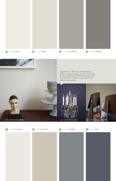 Bilderesultat for kalkgrå jotun Grey Wall Color, Wall Paint Colors, Interior Paint Colors, Paint Colors For Home, House Colors, Living Room Colors, Living Room Paint, Bedroom Colors, Jotun Paint