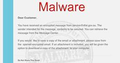 """Fake DFAT """"Secure Message"""" Email Contains Malware"""