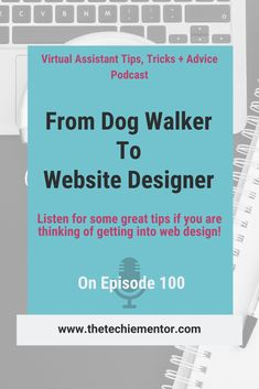 Are you thinking of offering web design as a virtual assistant service? For the 100th episode of my Virtual Assistant Tips, Tricks, + Advice Podcast I have a great guest joining me to share great tips for VA's wanting to offer website services for virtual assistant clients. Listen and let us know what you think!