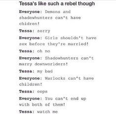 You go, Tessa!