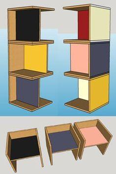 sketchup werkplaats4 kubus03 stoeltje