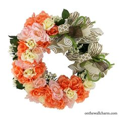 Rose Lovers Everyday Grapevine  Wreath by OnTheWallCharm on Etsy