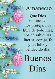 104 Best Buen Dia images in 2019 | Spanish quotes, Good day ...