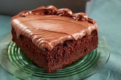 Heavenly Chocolate Cake Recipe - Kraft Recipes - made with miracle whip…interesting idea Heavenly Chocolate Cake Recipe, Decadent Chocolate Cake, Chocolate Cake Mixes, Chocolate Cheesecake, Delicious Chocolate, Chocolate Cream, Chocolate Orange, Frosting Recipes, Cake Recipes