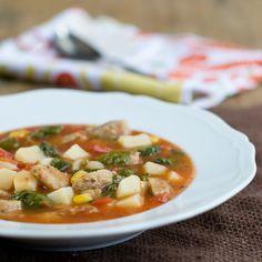 Homemade Tomato Potato Soup in 15 minutes!