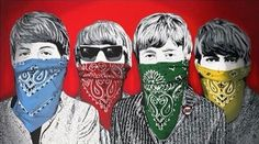 Beatles Bandidos (Red) by Mr Brainwash Editioned artwork Sculpture Art, Sculptures, Mr Brainwash, Public Art, Life Is Beautiful, The Beatles, Art Inspo, Pop Art, Street Art