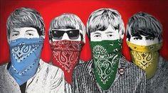 Beatles Bandidos (Red) (2012) Sculpture Art, Sculptures, Mr Brainwash, Public Art, Life Is Beautiful, The Beatles, Art Inspo, Pop Art, Joker