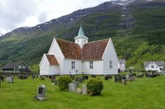 The Old Church, Olden, Nordfjord, Norway | Flickr - Photo Sharing!