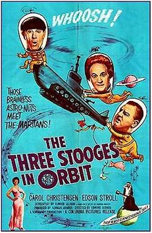 THE #THREESTOOGES IN ORBIT:  1962 Moe, Larry and Curly Joe foil Martians intent on destroying #Disneyland---and the rest of the planet.  https://www.youtube.com/watch?v=hRElW-bT_cI