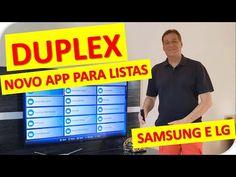 ▶NOVO APP NA SMART TV SAMSUNG E LG (LISTAS DE REPRODUÇÃO) - YouTube Smart Tv, Samsung, Youtube, Cinema, Videos, Music, App, Musica, Movies