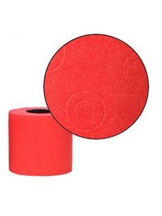 RENOVA 6szt. Czerwony Portugalski Papier Toaletowy  • intensywny, głęboki kolor • miękki i delikatny • 140 listków • papier trójwarstwowy