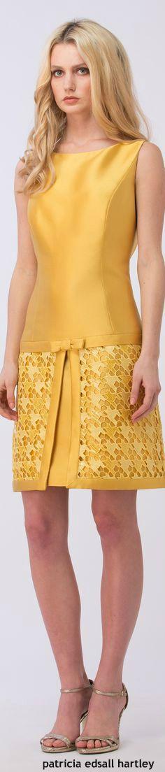 Vestido amarelo queimado