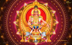 Lord Ayyappa is the son of Harihara i. Lord Vishnu and Lord Shiva (Hari is Vishnu and Hara is Shiva). He was born by the union of Lord Shiva and the enchantress Mohini who was an avatar of lord Vishnu. Lord Vishnu, Lord Shiva, Female Avatar, Hindu Dharma, Religion, Lord Murugan, Hindu Deities, Hinduism, God Pictures