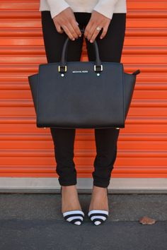 MK - such amazing affordable bags! love my jetset - love this style for work