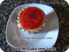 Dianne Nogueira: Receita de Bolo de Fubá sem Leite de Vaca #food