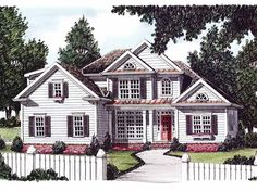 great floor plan   Eplans Country House Plan - Farmhouse Style - 1963 Square Feet and 3 Bedrooms from Eplans - House Plan Code HWEPL08266