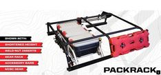 All-Pro Expedition Series Pack Rack - Tacoma World Forums Toyota Hilux, Toyota Tacoma, Tacoma World, Truck Mods, Truck Camper, Bug Out Vehicle, Expedition Vehicle, Truck Accessories, Offroad Accessories