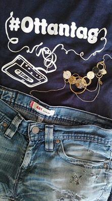 #tshirt e #shorts #cavallopazzo #torino #collana #tormokotokuda #mariattigioielli