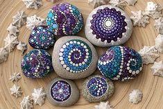 DIY Mandala Pierres Tutoriel colorful-crafts.com