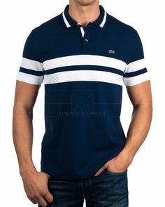 Polos Lacoste ® Hombre Azul Marino - Navire | ENVIO GRATIS Camisa Polo, Polo T Shirts, Cool Shirts, Polos Lacoste, African Men Fashion, Mens Fashion, Polo Shirt Design, Shirt Jacket, Shirt Men