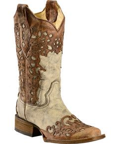 online shopping for CORRAL Women's Floral Laser Cutout Cowgirl Boot Square Toe from top store. See new offer for CORRAL Women's Floral Laser Cutout Cowgirl Boot Square Toe Kids Cowboy Boots, Kids Boots, Cowgirl Boots, Western Boots, Western Wear, Sexy Cowgirl, Western Style, Cowboy Hats, Punk Shoes