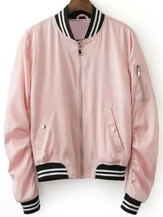 SHARE & Get it FREE | Pink Baseball JacketFor Fashion Lovers only:80,000+ Items • New Arrivals Daily Join Zaful: Get YOUR $50 NOW!