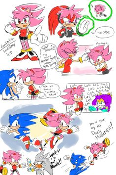 Obssesive Hammer 2 by Drawloverlala this is what it would be like if shadamy did occur ^_^'