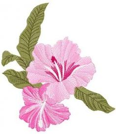 flower free embroidery design 35. Machine embroidery design. www.embroideres.com