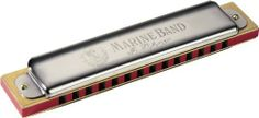 Hohner 365 Marine Band Harmonica, Minor 14 G by Hohner. $55.00. For 150 years, Hohner's diatonic harmonicas set the industry standard through high quality construction, excellent response and unsurpassed tone. Often called Blues Harps, they remain a fixture in blues, rock , country, folk, and many other styles of music. Traditional Richter tuning and undivided air channels allow for techniques such as bending and overblowing reeds, creating the signature wailing sou...