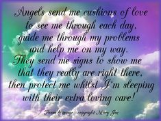 angel pictures and quotes for facebook | Angel Blessings and Poems with Beautiful Images - Mary Jac - Angel ...