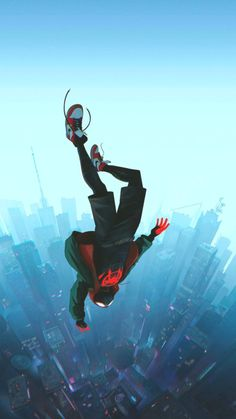 Spiderman Enter the Spiderverse – Picture World Miles Spiderman, Miles Morales Spiderman, Black Spiderman, Spiderman Spider, Amazing Spiderman, Spiderman Marvel, Chibi Marvel, Marvel Art, Marvel Heroes