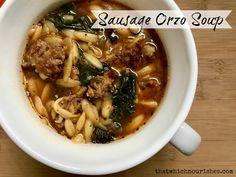 Sausage+Orzo+Soup
